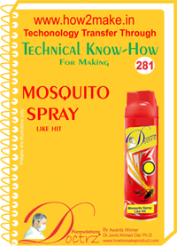Mosquito Spray like Hit Technical know-how (TNHR281)