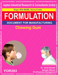 Chewing gum type 5 (Formula 283)
