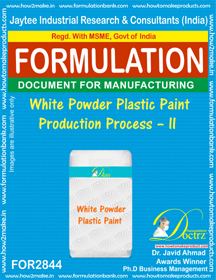 White Powder Plastic Paint Production Process – II