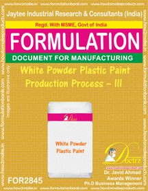 White Powder Plastic Paint Production Process – III