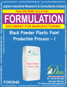 Black Powder Plastic Paint Production Process – I