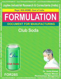 Club soda (formula No 285)