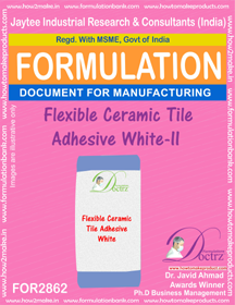 Flexible Ceramic Tile Adhesive White - II