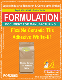Flexible Ceramic Tile Adhesive White - III