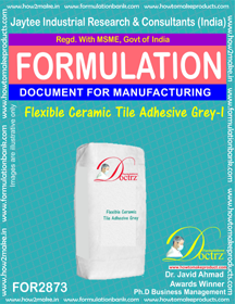 Flexible Ceramic Tile Adhesive Grey-I (for2873)