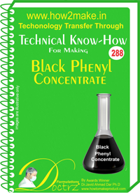 Black Phenyl Concentrate Technical Knowhow Report (TNHR288)
