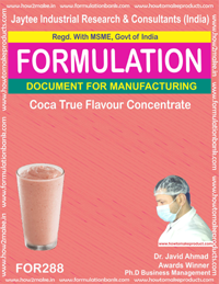 Coca true flavor concentrate(Formula No 288)