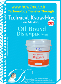 Oil Bound Distemper White Technical Know How Report (for289)