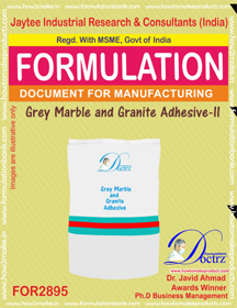 Grey Marble and Granite Adhesive -II (for2895)