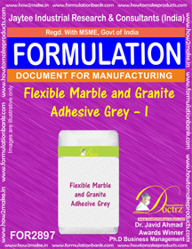 Flexible Marble and Granite Adhesive Grey – I (for2897)