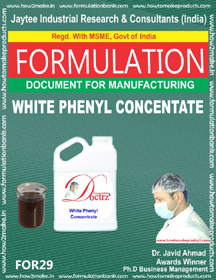 white phenyl concentrate (formula no 29)