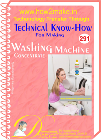 Technical knowhow for Washing Machine Concentrate (tnhr291)