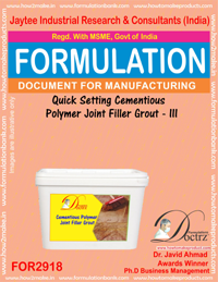 Quick Setting Cementiou Polymer Joint Filler Grout -III(for2918)