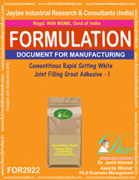 Cementitious Rapid Seting White Joint Filling Grout Adhesive -I
