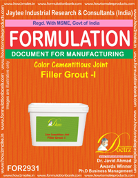 Color Cementitious Joint Filler Grout - I (for2931)