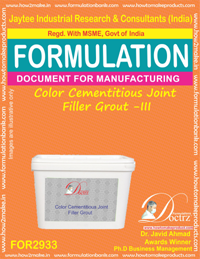 Color Cementitious Joint Filler Grout - III (for2933)
