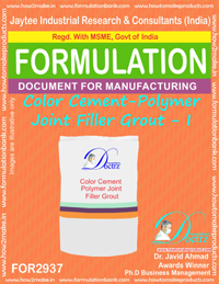 Color Cement-Polymer Joint Filler Grout - I(for2937)