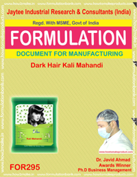 Dark Hair color kali mehndi (Formula No 295)