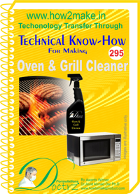 Oven & Grill Cleaner Technical Knowhow Report (TNHR295)