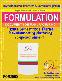Flexible Cementitious Thermal Insulation coating plastering(2990