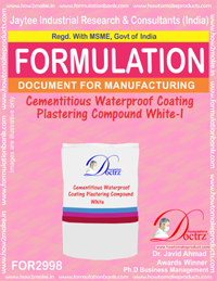 Cementitious Waterproof Coating Plastering Compound White I(2998