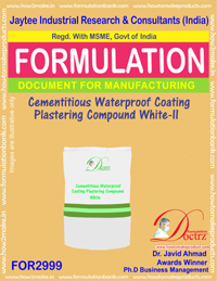Cementitious Waterproof Coating Plstering Compound White II(2999