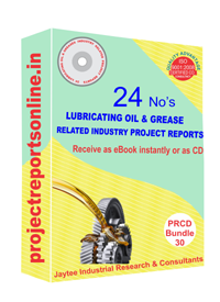 Lubricating Oil's & Greases Related Industry 24 Project Reprts