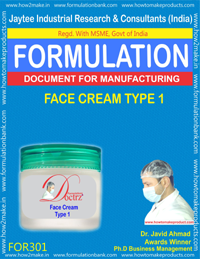 Face Cream Type 1