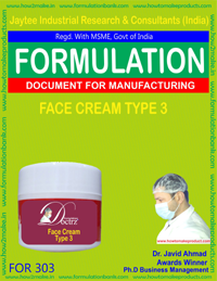Face Cream Type 3