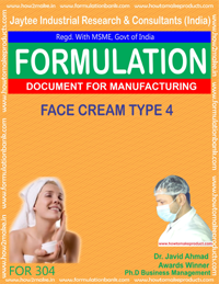 Face cream type 4 (Formula No 304)