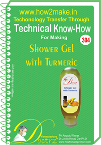 Shower Gel with Turmeric Heal Technical Knowhow (tnhr304)