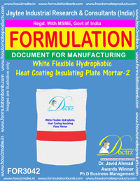 White Flexible Hydrophobic Heat Coating Insulating Plate Mortar2