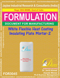 White Flexible Heat Coating Insulating Plate Mortar-2