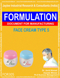 Face cream type 5 (Formula No 305)
