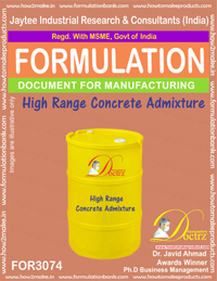 High Range Concrete Admixture (FOR3074)