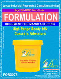 High Range Ready-Mix-Concrete Admixture (FOR3075)