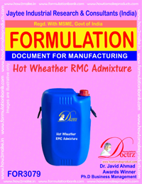 Hot Wheather RMC Admixture (FOR3079)