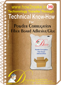 Powder Corrugated Fiber Board Adhesive (TNHR310)