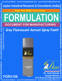 Grey Fluorescent Aerosol Spray Paint 1 (FOR3106)