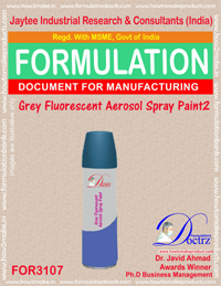 Grey Fluorescent Aerosol Spray Paint 2 (FOR3107)