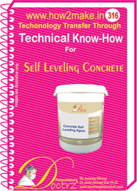 Self leveling Concrete (316 tnhr) Technical knowhow