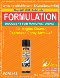 Car Engine Cleaner , Degreaser Spray formula2(for3163)