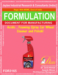 r Acidic , foaming spray Car Wheel Cleaner and Polish1 (for3165)