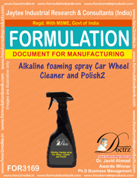 Alkaline foaming spray Car Wheel Cleaner and Polish2 (for3169)