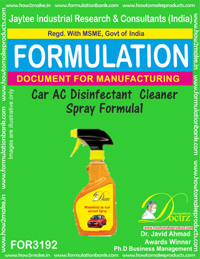 Car AC Disinfectant Cleaner Spray Formula1 (for3192)