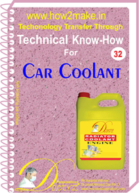 Technical knowHow report for car radiator coolant (TNHR 32)