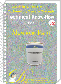 Aluminium Paint Technical Know-How Report (TNHR322)