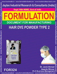 Hair dye powder type 2(Formula No 324)