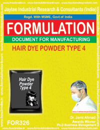 Hair dye powder type 4 (Formula No 326)