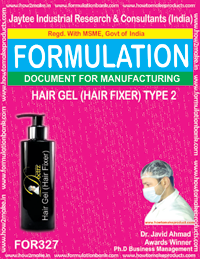 Hair fixer gel Type 2 (Formula No 327)